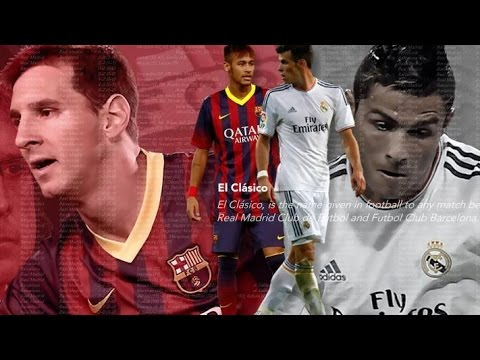 Real Madrid vs Barcelona 25.10.2014 ► El Clásico Promo | The Arrvial