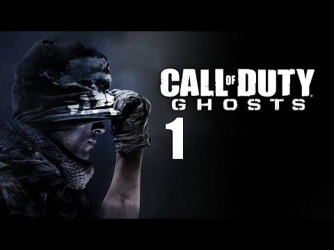 Давайте играть в Call of Duty: Ghost часть 1