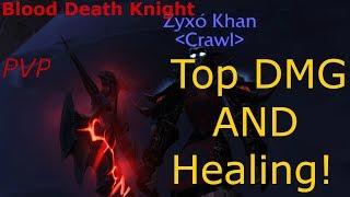 Blood dk pvp guide. Top damage+healing (Legion 7.3.5)