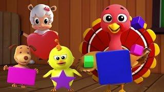 hình dạng bài hát   trẻ em vần   biên soạn   Shapes Song   Educational Video   Learn Shapes