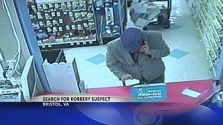 Masked suspect in Bristol, VA pharmacy robbery passes note 'demanding oxycodone in 30 seconds'