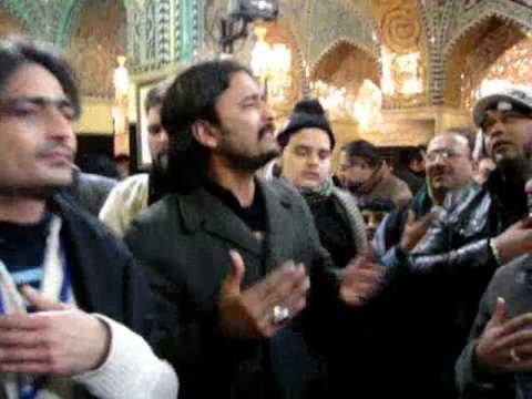 Shaam-2010 Irfan Haider Live Noha Sakina (s.a) Utho Meri Jaan Utho video