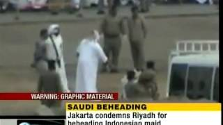 Beheading of an indonesian maid