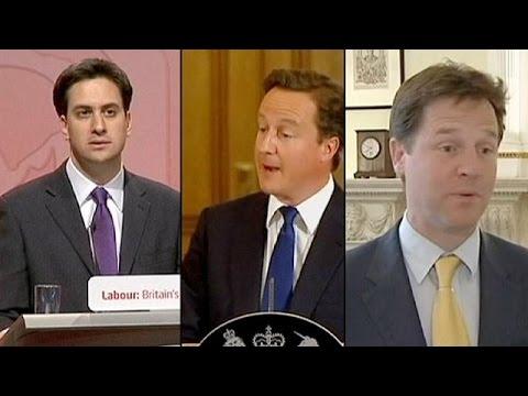 Cameron, Miliband y Clegg responden a los electores en directo a una semana de las elecciones