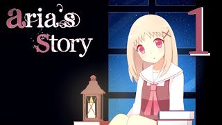 Aria's Story - SURVIVING A LIBRARY (RPG Maker) Manly Let's Play [ 1 ]