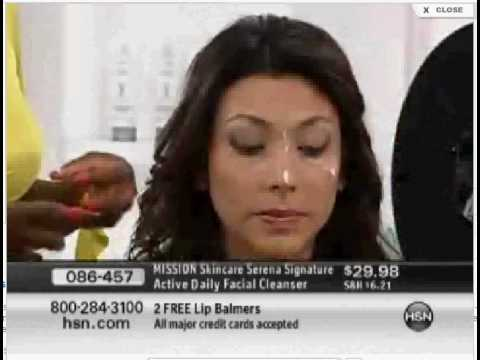Lili Gil with Serena Williams on HSN - Launching her MISSION Skincare ACTIVE-BEAUTY LINE