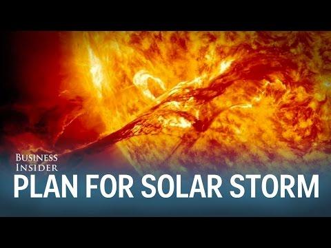 Solar storm survival plan