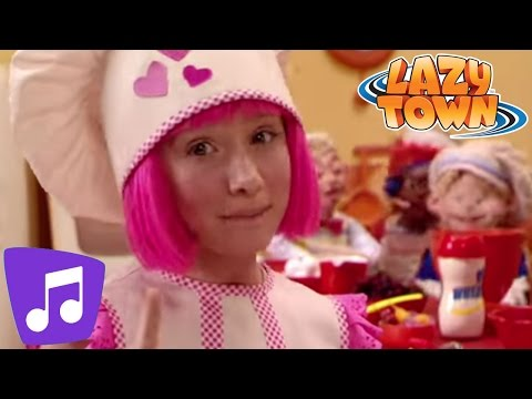 LazyTown | Cooking By The Book Music Video