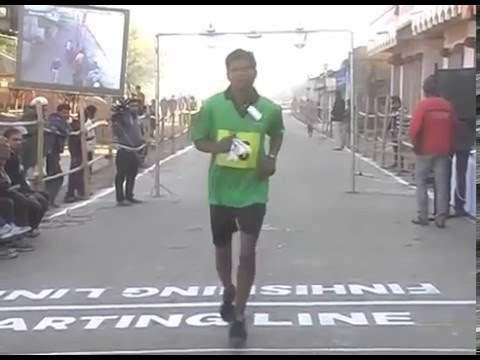 All India Girnar Mountain Ascending Descending race at Junagadh