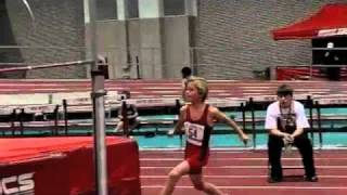 10 year and 11 year old high jump