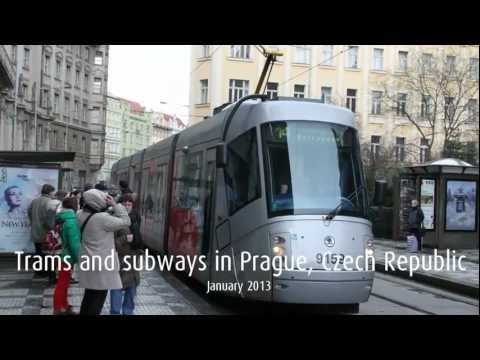 Prague public transport compilation (2013)