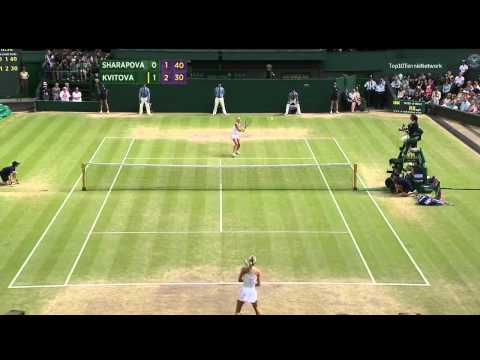 Kvitova vs Sharapova Highlights Wimbledon 2011