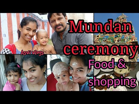 Ima's mundan ceremony|Food, shopping & more|A day in my life with toddler|Asvivlogs