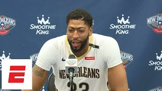 Anthony Davis on why he signed with LeBron James' agent | NBA Media Day | ESPN