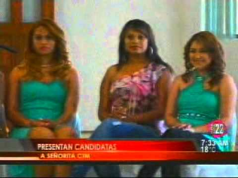 CANDIDATAS A REINAS CTM 2014 - SUPER CHANNEL 22