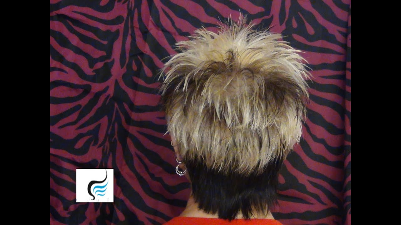 Short Spikey Hairstyles for Women Back Views