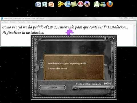 Descargar e Instalar Age of Mythology Gold ISO Parte 2