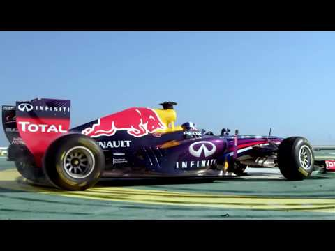 Red Bull Racing F1 Stunt on Burj Al Arab Helipad (Official Video)