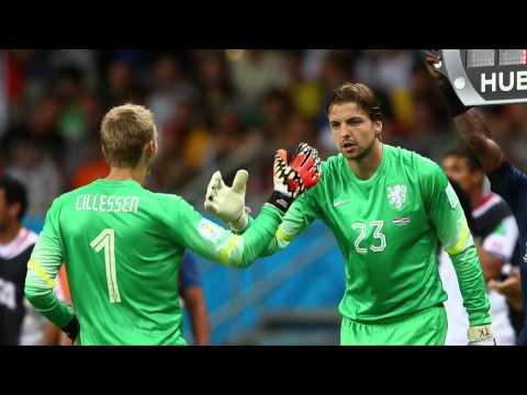 Tim Krul: Der Elfmeter-Held auf Abruf | Niederlande - Costa Rica 4:3 n.E. | FIFA WM 2014 Brasilien
