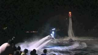 martinique flyboard show by ZR