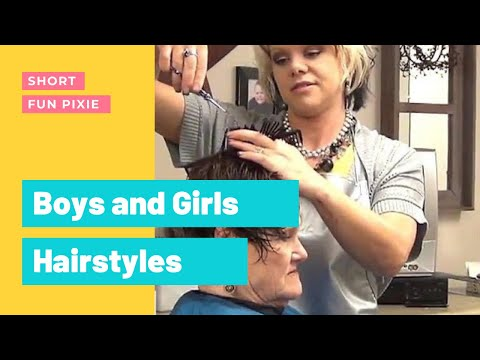 Short, Easy, Trendy Haircut for Ladies Hairstyle Tutorial