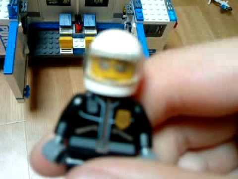 Camion de police 7288 de lego city youtube - Lego city police camion ...