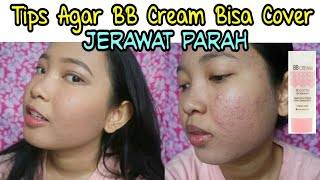 TIPS AGAR BB CREAM BISA COVER JERAWAT PARAH - MIX WARDAH & PIXY (Full Tutorial Makeup) - Vinamaysha