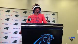 Cam Newton Lobbies to Be David Ruffin of the Panthers New Cat Pack Trio