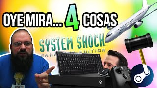 Oye mira 4 cosas - Ratón Teclado Xbox One, Steam banea developer, System Shock para, DRM to loco