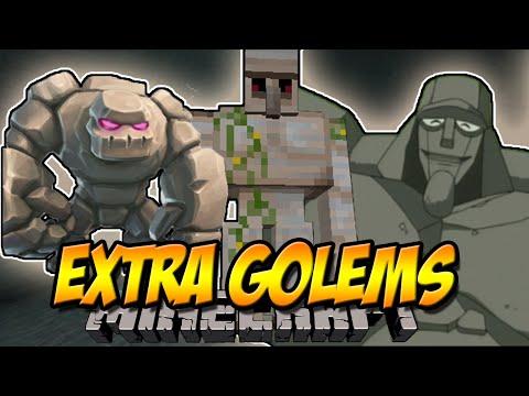20 NEUE GOLEMS   Extra Golem Mod   Minecraft Mod Review [DEUTSCH]