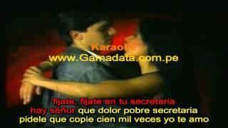 Daniela Romo pobre secretaria Karaoke