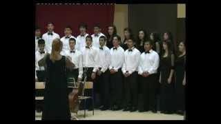 Adana Güzel Sanatlar Lisesi Batı Müziği Korosu NEŞEYE ŞARKI Şef : Betül GÜMÜŞ