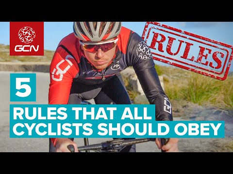 5 Rules All Cyclists Should Obey | How To Ride On The Road Safely