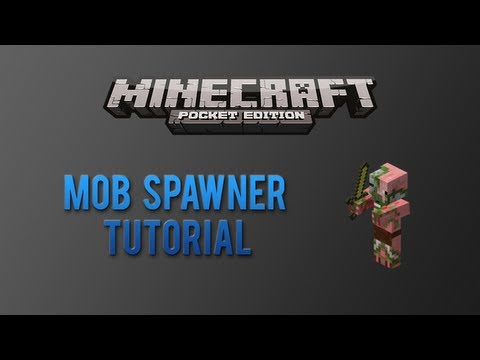 [Tutorial] How to Make a Mob Spawner in Minecraft Pocket Edition