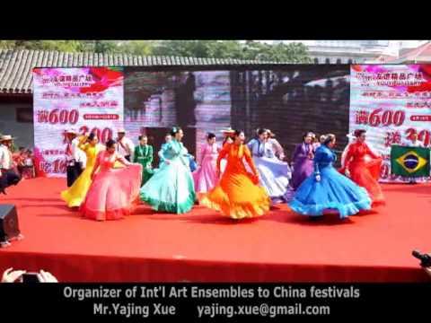 15th Beijing International Tourism Festival, 2013 - Brazil Folk Dance (GAS) 1