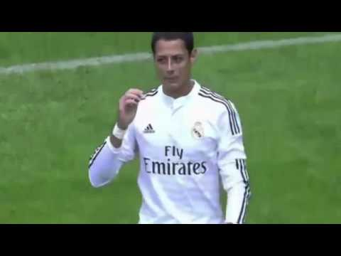 Primer Gol de Javier Chicharito Hernandez con Real Madrid Deportivo La Coruña vs Real Madrid