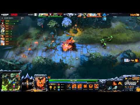 [Techies!] Secret vs Cloud9 - (Dota 2 Asia Championships) - LD & SyndereN