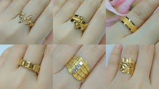 Latest Gold Ring Designs For Men and Women