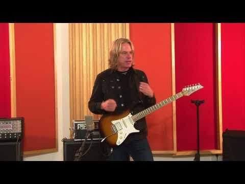 Andy Timmons Demos GNI Vintage Distortion Multi Fuzz pedal - Mesa Boogie - Ibanez