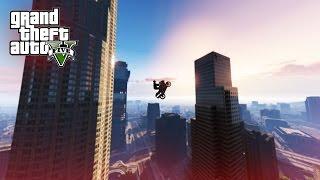 BIGGEST STUNT JUMP EVER! - (GTA 5 Top 5 Stunts)