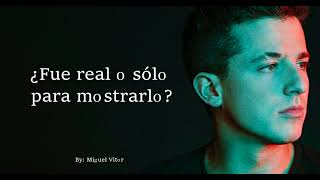 Download Lagu Charlie Puth - How Long // Letra En Español - Subtitulado - Traducido Gratis STAFABAND