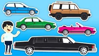 Nauka Pojazdów Dla Dzieci - Samochody Dla Dzieci - Kolorowanie | CzyWieszJak