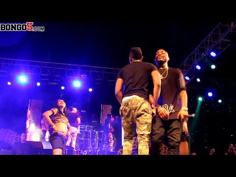 Davido na Diamond Platnumz Show ya Fiesta Dar