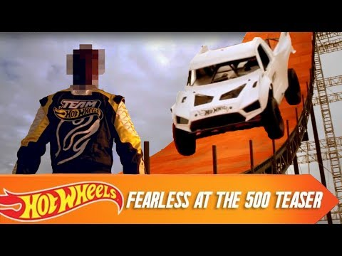 Hot Wheels Fearless at the 500 Teaser