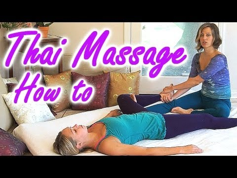 Thai Asian Body Massage Therapy How to, Legs & Lower Body Techniques, Jen Hilman