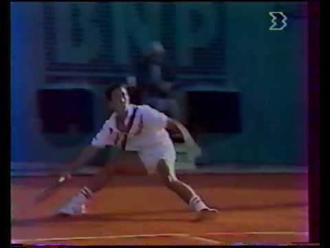 チャン vs マッケンロー - ローランギャロス 1988 - 02/08