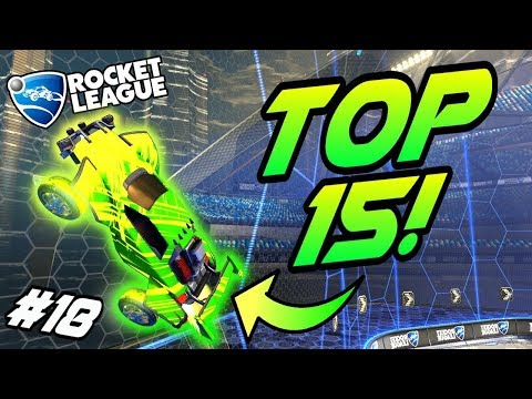 Rocket League GOALS/FREESTYLES #18! - Top 15 Best Goals, Funny Moments, Plays (Montage)