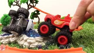 Monster Trucks & a Kids' Train  Videos for Kids