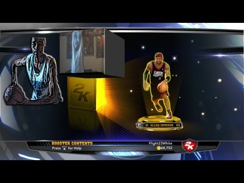 NBA 2K14 My Team: PULLING ALLEN IVERSON FINALLY!   2K14 Review   Thanks for 300Hunna Subs