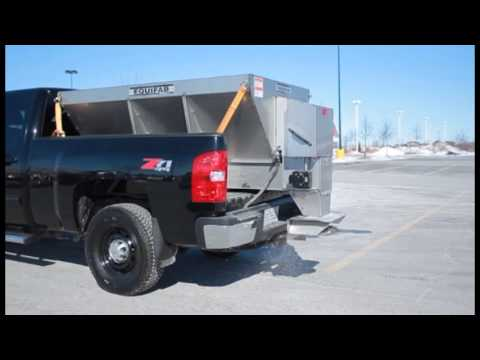 Equifab salt and sand stainless steel spreader youtube
